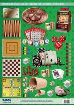 Stanzbogen - Reddy -84906- Karten-Accessoires-Spiele