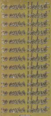 Zier-Sticker-Bogen-Kalender- zu unserer Hochzeit-8592g