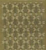 Zier-Sticker-Bogen-72 Kreuze-882g