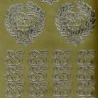 Zier-Sticker-Bogen-Jubiläums-Zahlen-85-gold-9003g