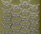 Zier-Sticker-Bogen-Schmetterlinge-gold-9021g