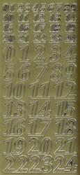 Zier-Sticker-Bogen-Adventkalender-Zahlen-gold-9106g