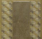 Zier-Sticker-Bogen-0984g-kleine Ecken und Ränder