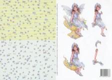 3D Etappenbogen- Faerie Poppets - 99081-1