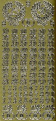 Zier-Sticker-Bogen-Jubiläum-Zahlen-gold-9930g
