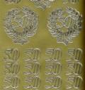 Zier-Sticker-Bogen-Jubiläum-Zahlen-50-gold-9959g