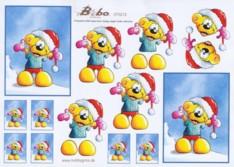 3D Etappen-Bogen - Bobo - Weihnachten - BB-70212