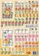 Bloxxx-3D Mosaik-Bogen-Rosen-card deco-BLX 02