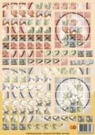 Bloxxx-3D Mosaik-Bogen-Tulpenstrauß-card deco-BLX 04