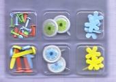 Brads-Motivklammer-Musterklammer-Set 06-verschiedene Anlässe