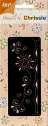 Joy Crafts-Chrissie-Embossing-Stick-Schablone 6001-1008