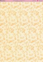 Motivkarton-Kartenpapier-Enamel Glaze-Scrolls Gold-DBCRD016