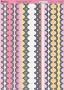 Kanban Stanzbogen-Bordüren-Scalloped Borders Pink-DBPCT020