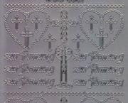 Zier-Sticker-Bogen-3037s-zur Firmung-silber