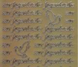 Zier-Sticker-Bogen-3039g-zur Jugendweihe-gold