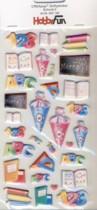 CREApop-Softy-Sticker-Bogen-HobbyFun-HF166-Einschulung/Schulanfang 2
