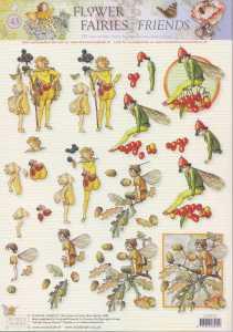 3D Etappen-Bogen-Flower Fairies-FF 043