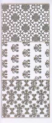 Gravur-Sticker-Bogen-GR 0779trg-Hindergründe-transparent-gold