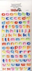 CREApop-Softy-Sticker-Bogen-HobbyFun-HF110-Alphabet-abc-Kleinbuchstaben-bunt