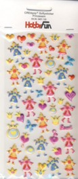 CREApop-Softy-Sticker-Bogen-HobbyFun-HF135-Prinzessin