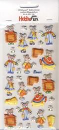 CREApop-Softy-Sticker-Bogen-HobbyFun-HF156-Lustige Mäuschen