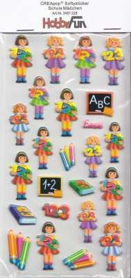 CREApop-Softy-Sticker-Bogen-HobbyFun-HF228-Schule Mädchen