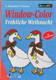 Kreativ-Window Color - Fröhliche Weihnacht (Malvorlagen)
