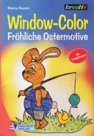 Kreativ-Window Color - Fröhliche Ostermotive (Malvorlagen)