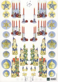 3D Etappen-Bogen-IT 504-Marianne Design-Kerzen-gespiegelte Motive