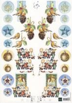 3D Etappen-Bogen-IT 505-Marianne Design-Vogel-gespiegelte Motive