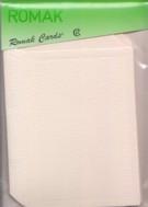 4 Buch-Karten-Doppelkarten mit Umschlägen-Romak-64-lachs