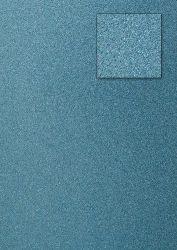 Kars-Glitterkarton-Papier-ca.240g/m²-A4 -K05-hellblau