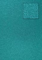 Kars-Glitterkarton-Papier-ca.240g/m²-A4 -K240-preußisch-blau