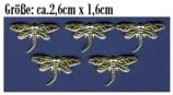 Messing - Ornamente - Metall - MO 06- Libelle