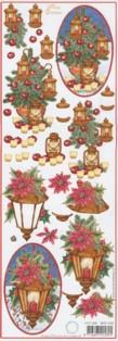 3D Bogen-Etappenbogen-Merry Christmas-Laternen-MXT.5406
