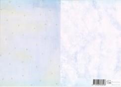 Hintergrundpapier - Marjoleine Design 10 - A 4 -blau