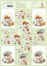 3D Etappen-Bogen -Mylo & Friends 33-Kommunion