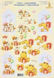 3D Etappen-Bogen -Mylo & Friends 34-Geburtstag