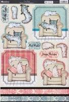 Kanban Stanzbogen-3D Toppers-Cat Nap-PCT9875