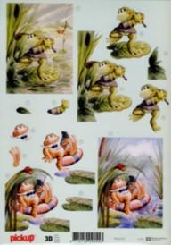 3D Etappen-Bogen-sportlicher Frosch- Pickup 027