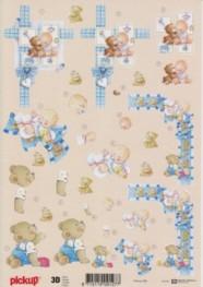 3D Etappen-Bogen -Baby-Teddy-Pickup 99