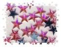 Glitzersteine-Schmucksteine-ST 02-Sterne-10mm-rosa