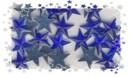 Glitzersteine-Schmucksteine-Sterne-10mm-ST 07-blau