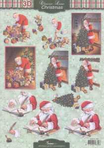 3D-Etappen-Bogen-Classic Line-Christmas-Nikolaus-Tannenbaum-STSL 1266