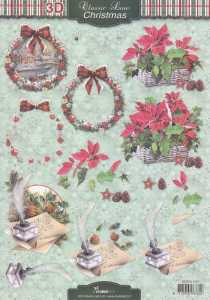 3D-Etappen-Bogen-Classic Line-Christmas-Weihnachtspost-Christstern-STSL 1267