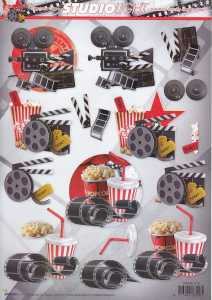 3D Etappen-Bogen-STSL 1215-Herrenmotive-Kinoabend- Filme