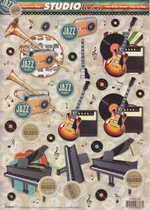 3D-Etappen-Bogen-Musikinstrumente - STSL 1231