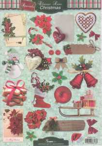 Motiv-Bogen-Classic Line-Christmas-Weihnachtsmotive-STSL 1279