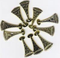 Hobby Fun-Streuteile -Sektkelche-ca.2,2cm-gold