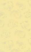 Tolles Duftpapier - kleines Rosenmuster-pastell/gelb - A4